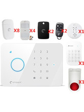 Big discou Etiger Wireless GSM Home Alarm System multi language Security Smart Home Security Alarm System