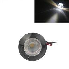 12 فولت مركبة بحرية مصباح ليد 38 ملليمتر RV مجاملة المدخل مصابيح ضوء تعمل تحت الماء للماء