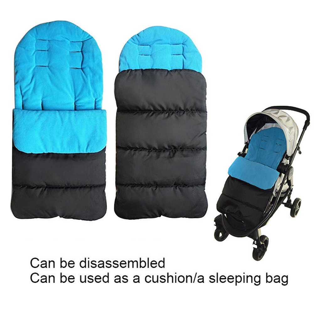 Baby Toddler New Universal Footmuff Cosy Toes Apron Liner Buggy Pram Stroller cotton pad Universal foot cover Accessories Softly