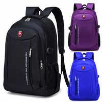 Männer Mode Reisetaschen 2020 Multifunktions Rucksack Wasserdichte Oxford Student Schul Lässige Männer Reise Mann Teenager Rucksack