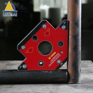 Image 3 - LISHUAI Neodymium Magnet Welding Holder/Arrow Magnetic Clamp for Welding Magnet WM6