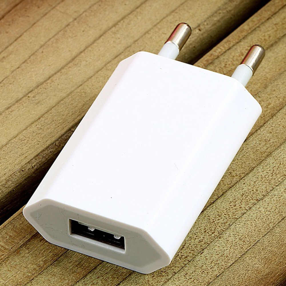 2019 nowy wysokiej jakości europejskim ue wtyczka USB AC podróż ściana ładowania ładowarka adapter do apple iPhone 6 6S 5 5S 4 4S 3GS