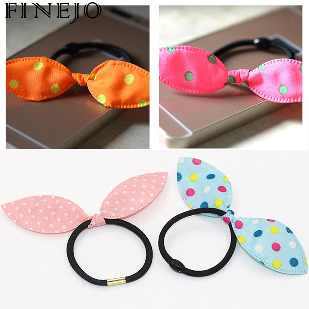 Cheap Sale Ears Hair Headwear Rope Band Rabbit Head Accessories Random Ring Elastic Terrific Value Men's Accessories