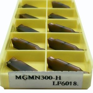 Image 5 - 10 adet MGMN300 H LF6018 CNC kesme bıçağı çelik/paslanmaz çelik/dökme demir ekleme araçları bıçak