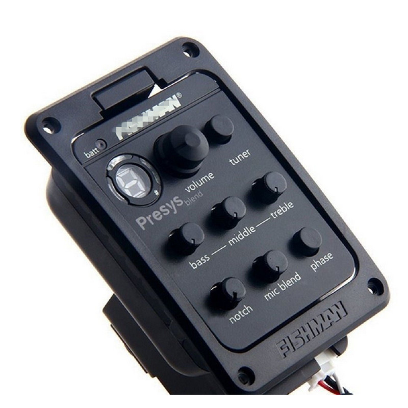 TOP Quality Guitar Pickup Presys blend Dual Mode Guitar Preamp EQ Tuner Piezo Pickup Equalizer System With Mic Beat Board Pickup belcat bass pickup 5 string humbucker double coil pickup guitar parts accessories black