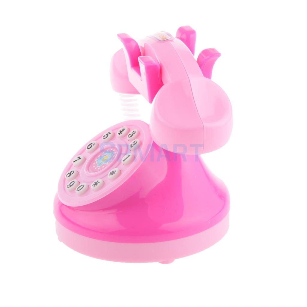 Mini Household Communication Equipment House Telephone Kids Pretend Play Toy ...