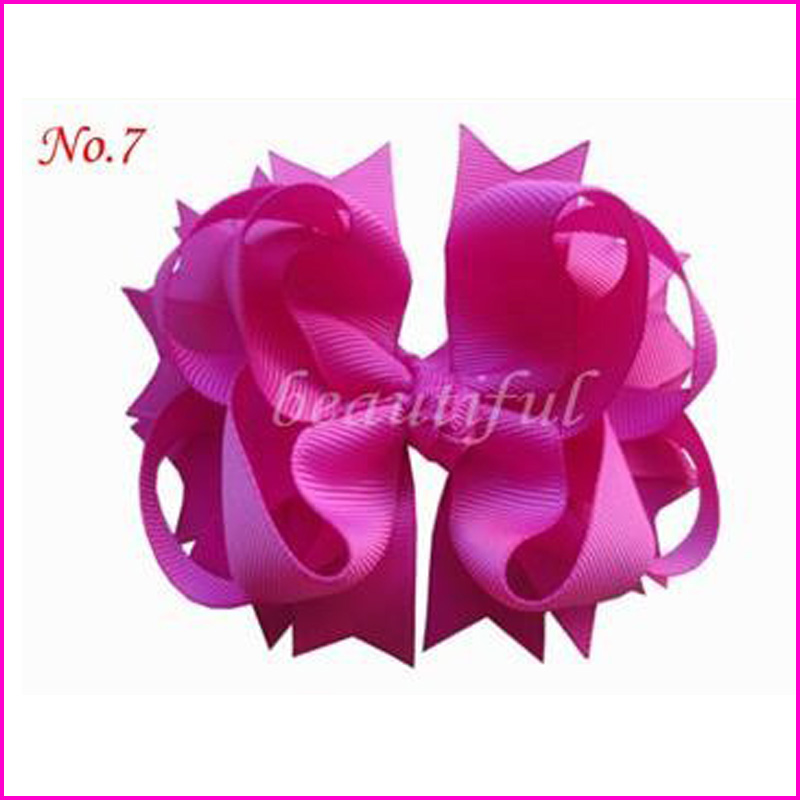 50 BLESSING Good Girl Hair Bow Corker Ponytail Streamers Elastic 98 No.