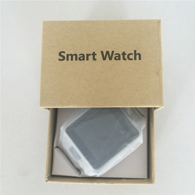 Smart watch dz09 com câmera anti-perdido do bluetooth cartão sim mp3 player smartwatch relógio de pulso branco/preto/ouro/prata 4 cores