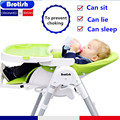 Free shipping Multifunctional Portable Baby Dining Chair Folding Baby Chair Feeding Chair 3-color selection LD00922