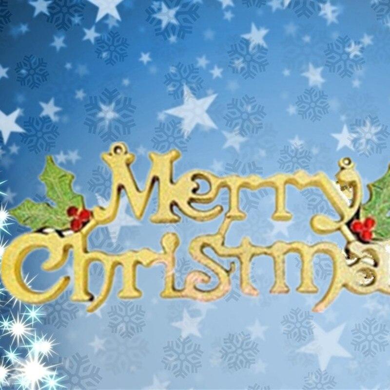 Feliz Navidad Ingles Letter Word Arbol De Navidad De Regalo Y