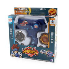 Hot Sale Spinning Top Metal Spinning Tops Toy Set Beyblade Toy with Dual Launchers Hand Spinner Metal цена 2017