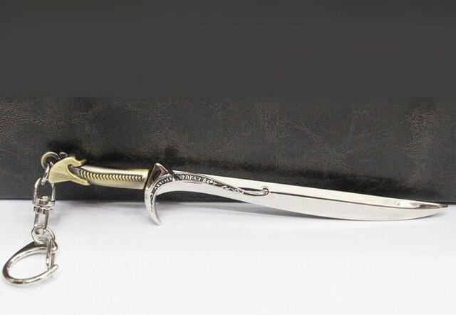 Брелок меч Хоббит 13 см металлический 1