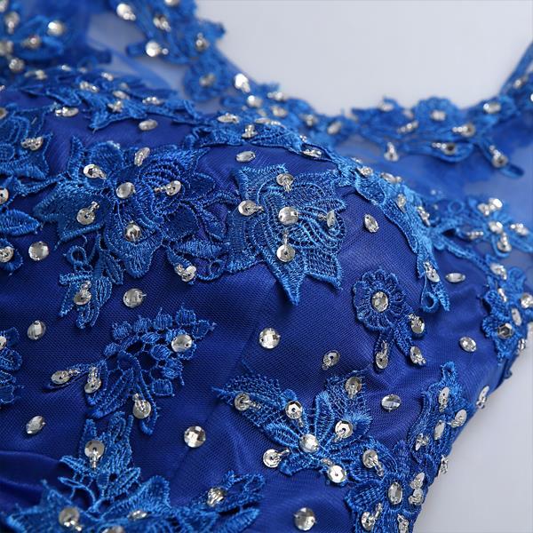 644cc038a1b6 € 95.55 |Zkc tío 2016 mujeres sexy vestidos fiesta azul scoop imperio gasa  backless corto gasa vestido más el tamaño, 3266, ty, hd en Vestidos de ...