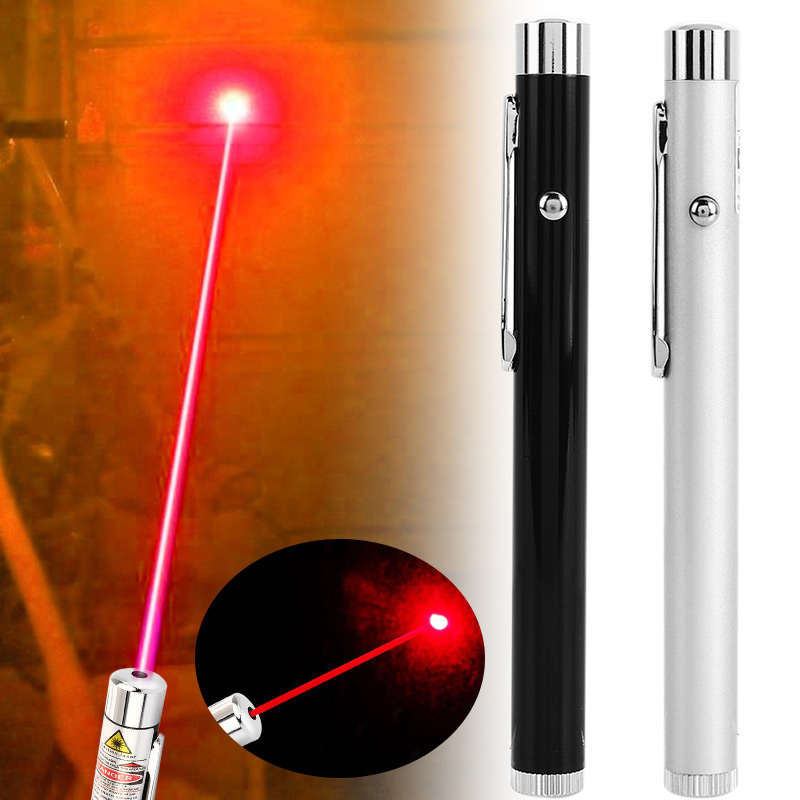 Laser Pointer Pen Beam High Powered Red 5mW Powerful Visible Light Military Sighting Device Flashlight Electric Torch Pet Toy