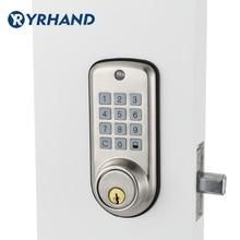 Serrure de porte numérique pour maison intelligente, serrure étanche et intelligente sans clé, Code Pin, serrure à pêne à levier électronique