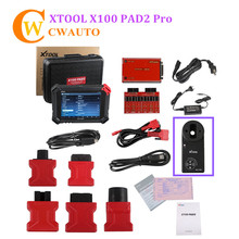 Xtool X100 PAD 2 Pro OBD2 Car Diagnostic Tool With Key Programmer Odometer Adjustment Tool Exhaust Aftertreatment Original Tool