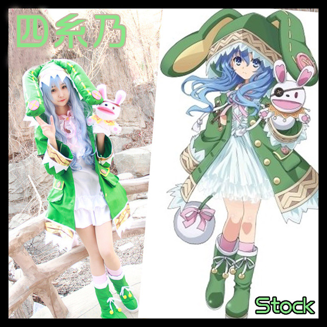 Stock Wig Shoes Doll Anime DATE A LIVE Figure Yoshino Hermit