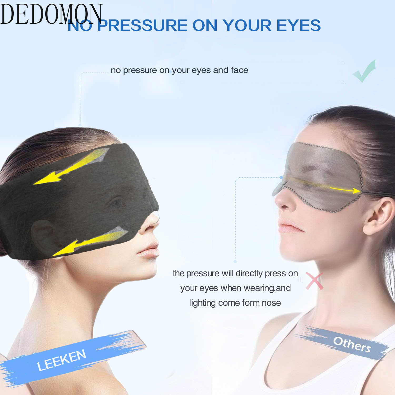 1 PC שינה מסכת נוח לנשימה שינה עין מסכת מתכווננת מצחייה Blinder עיניים כיסוי עיניים הטוב ביותר תיקון לילה לוויה