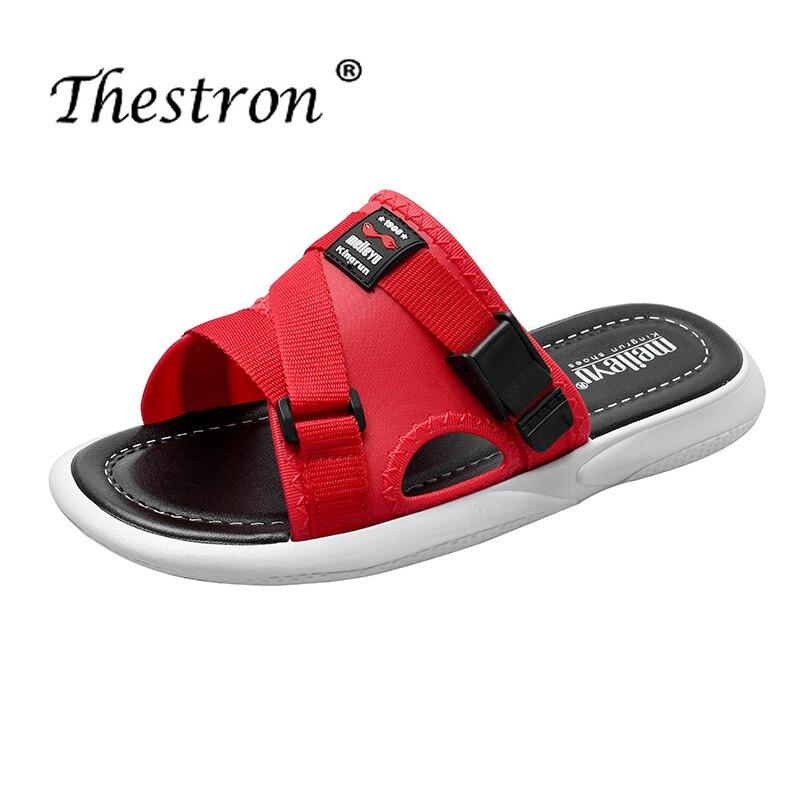 Popular Lovers Shower Slippers Anti-Slip Home for Men Comfortable Flip Flops Beach Shoes Weight Light Flats
