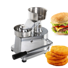 100mm-130mm Manual Hamburger Press Burger Forming Machine Round Meat Patty Makers Ship From RU/US/DE