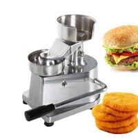 100mm 130mm Manual Hamburger Press Burger Forming Machine Round Meat Forming Burger Patty Makers Ship From RU/US/DE