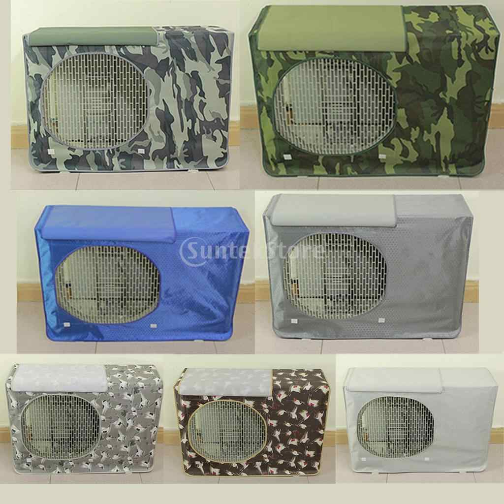 Window Air Conditioner Cover Outdoor Unit Rainproof Protective Cover