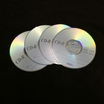 4PCS/LOT Deli 3725 CD-R Blank discs reco...
