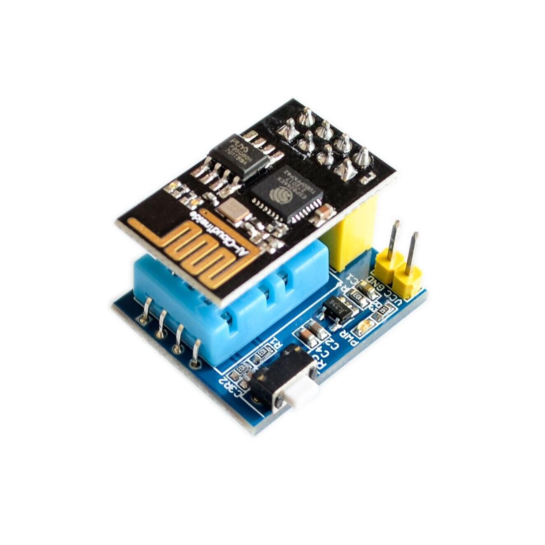 ESP8266 ESP 01 ESP 01S DHT11 Temperature Humidity Sensor Module esp8266  Wifi NodeMCU Smart Home IOT DIY Kit-in Integrated Circuits from Electronic