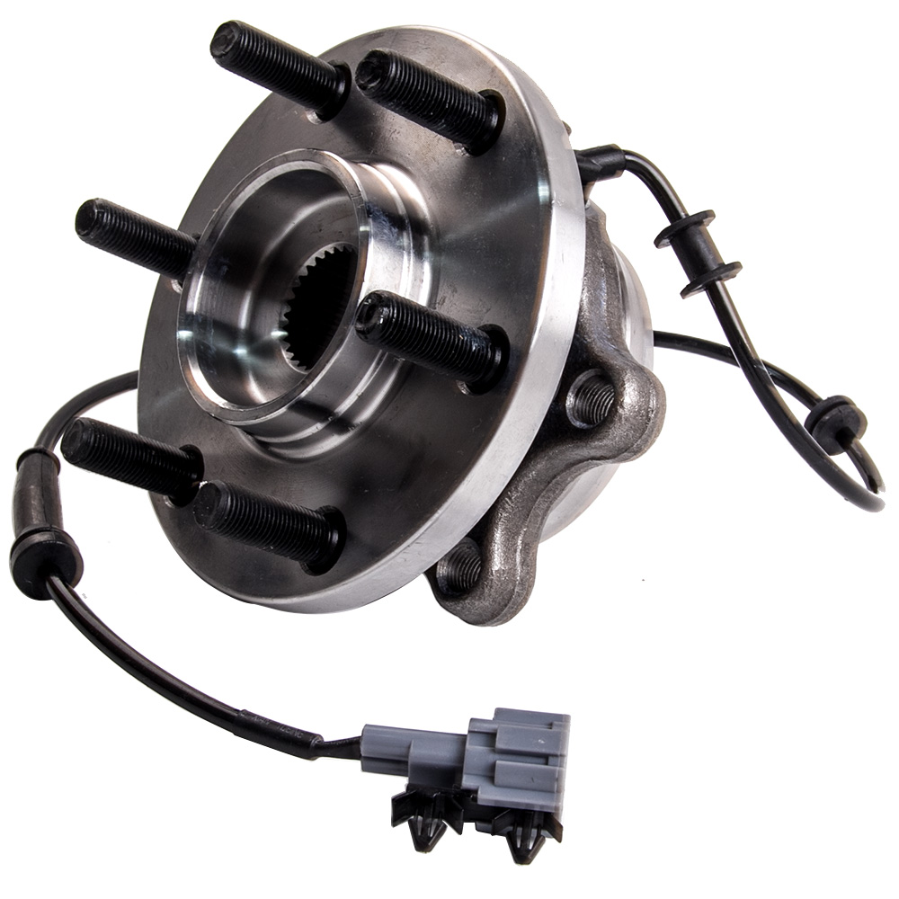 Wheel Bearing In Spanish >> 2x Front Wheel Bearing Hubs Spanish For Nissan Navara D40