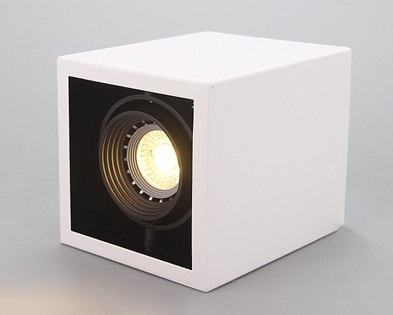 de teto quadrado lâmpada decorações do corpo iluminação para casa