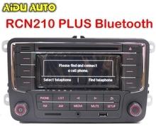 AIDUAUTO USE FIT FOR Golf 5 6 Jetta Mk5 MK6 Passat B6 CC B7 RCN210 Plus Bluetooth MP3 USB Player CD Radio