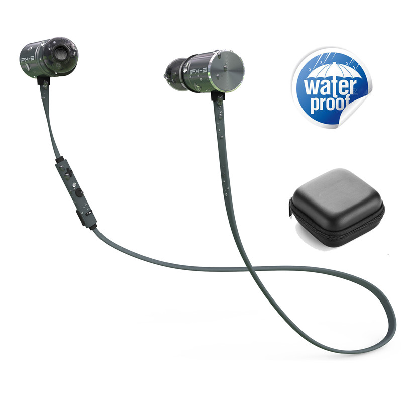 Plextone bluetooth headphones IPX5 waterproof wireless headphone sports bass bluetooth earphone with mic for phone iPhone xiaomi