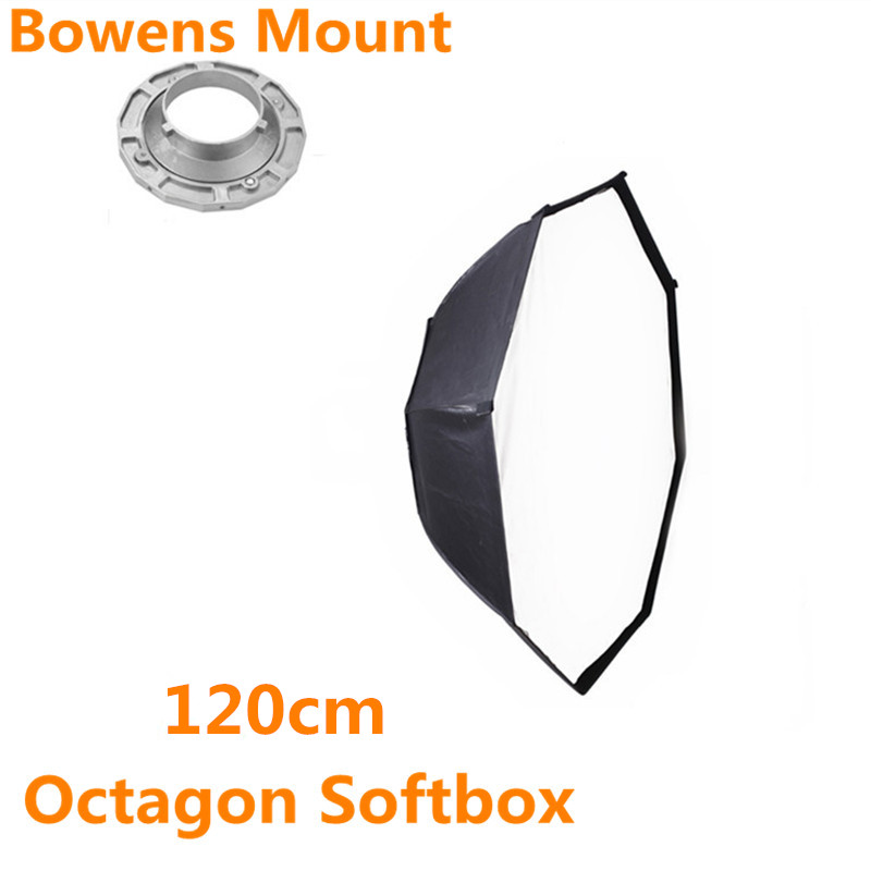 bowens mount octagon softbox 120cm for studio flash photo studio soft box photography accesorios