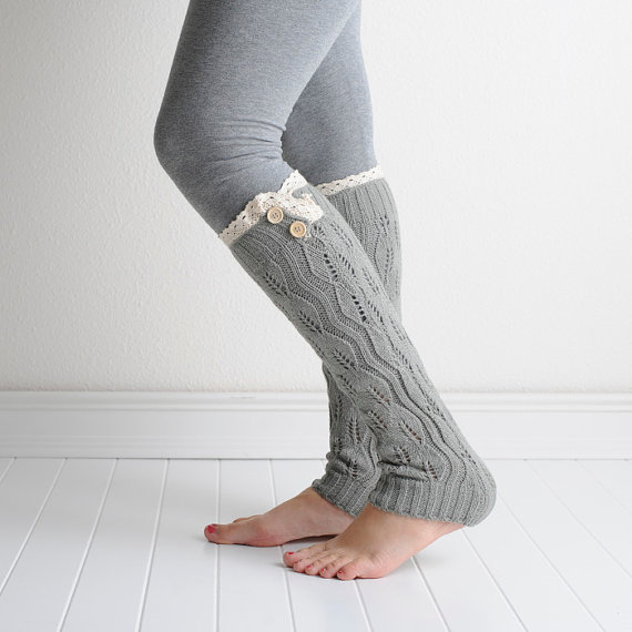 Crochet Boot Cuffs With Lace Pattern : Popular Knitted Sock Patterns-Buy Cheap Knitted Sock ...