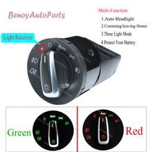 Авто для переключателя передних фар свет Сенсор модуль для VW Golf Jetta MK4 Passat B5 Polo Bora Bettle для Skoda Fabia