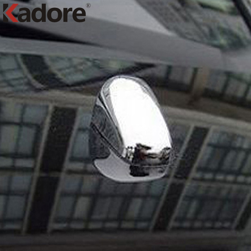 For KIA Sportage 2007 2008 2009 2010 Chrome Car Window Wiper Washer Spray Nozzle Cover Trim Car Styling Accessories