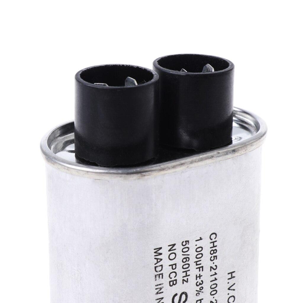 AC 2100 в микроволновая печь Высокое напряжение HV конденсатор 0,90 Micro F Замена Универсальный