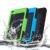 Em estoque! 8000 mAh Portátil de Carga Da Bateria de Backup De Banco De Energia Solar Para O Telefone À Prova D' Água Mais Novo 3 Cor