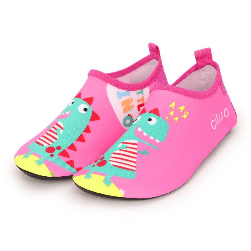 praia dos desenhos animados criancas chinelos criancas sapatos 03
