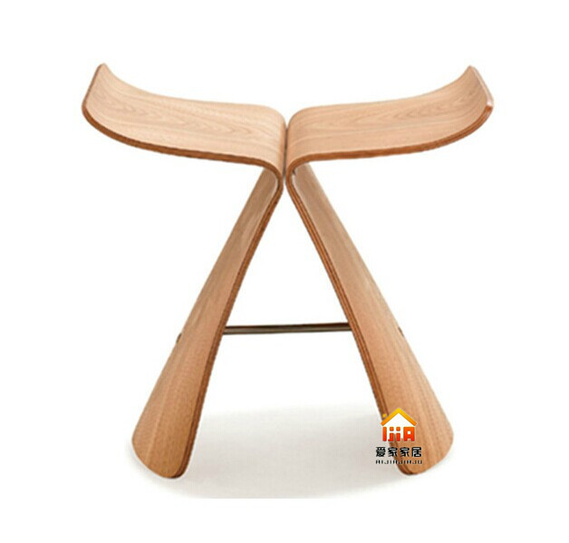 ash wood butterfly chair wooden pick hu parlor chairs leisure chairs