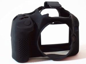 Image 1 - LimitX سيليكون درع حالة الجلد الجسم غطاء حامي الكاميرا لكانون EOS 550D/المتمردين T2i/قبلة X4 DSLR كاميرا رقمية فقط
