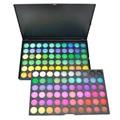 120 Colores de Sombra de Ojos Caja de Sombra de Ojos Paleta de Maquillaje Kit Set Maquillaje Pro Warm Neutral Maquillaje Cosmético Paleta Sombra de ojos Set