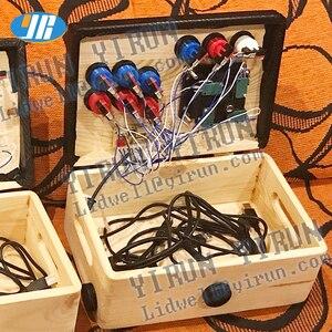 Image 5 - DIY ארקייד משחק ערכת USB כדי אפס עיכוב לוח USB מקודד למחשב/פטל pi 8 דרך ג ויסטיק ארקייד משחק בקרת לוח 2 נגן