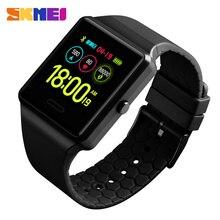 SKMEI zegarki męskie moda Sport Digtal zegarek wielofunkcyjny BlueTooth tętno ciśnienie krwi zegarki relogio digital 1526