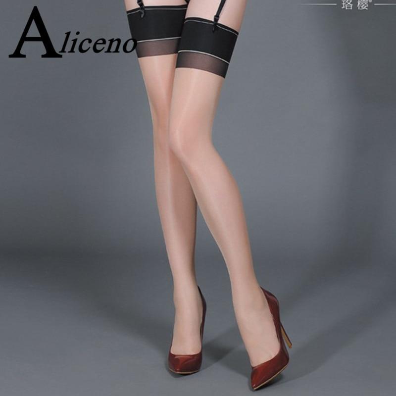 Plus Size Classic Retro Fashion Back Seam Stockings Reinforced Heel & Toe RHT 88% Nylon Stretchy Sexy Thigh-high Stockings 0906