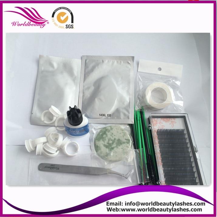 ФОТО Wholesale price Make up 1 set good quality,eyelash extension  kits