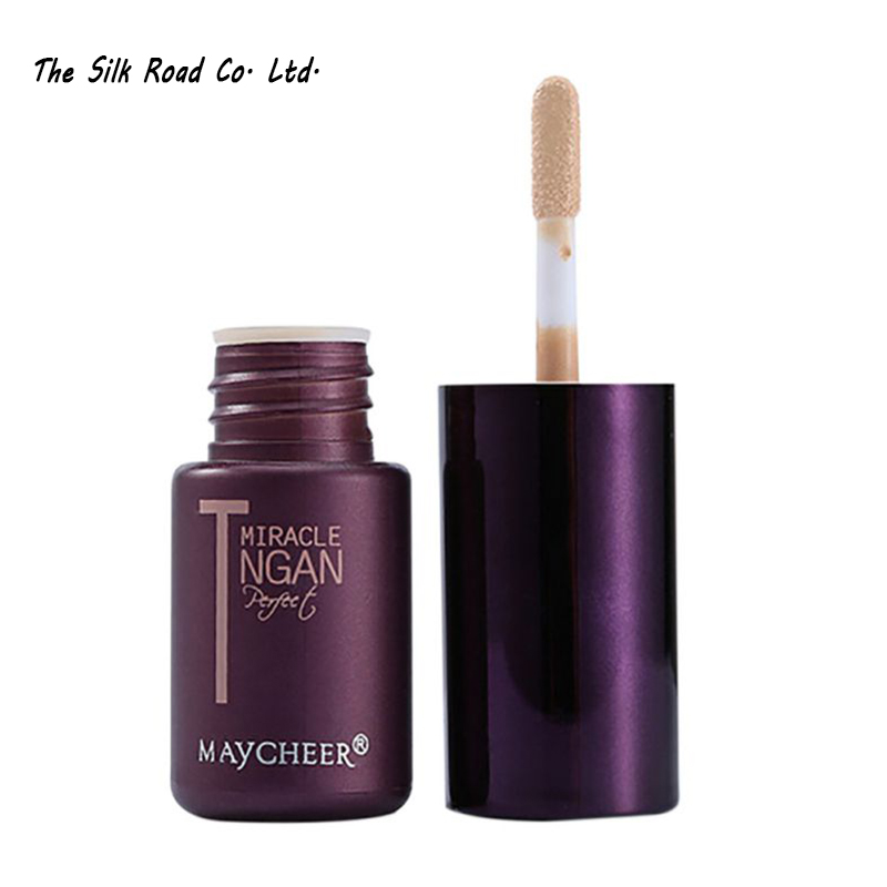 6027 Brand Makeup T-Zone Oil Control Liquid Concealer Stick Moisture Hide Blemish Dark Circle Face Eye Concealer Cream X2