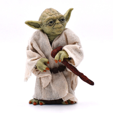 12cm Movie Star War Yoda Darth Action Figure Toys The Force Awakens Yoda Anime Figures Collection Model Toy Doll