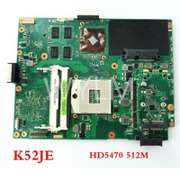 free shipping K52JE HD5470 512 mainboard REV2.2 For ASUS A52J K52J X52J K52JR Laptop motherboard 60 N4AMB3000 A04 Tested Working