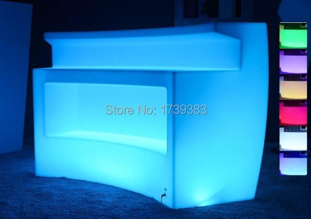 506 31 5 De Réduction Meubles Lumineux Multicolores Rechargeables De Led Barre D Angle Table De Barre De Rupture De Led Led Pour Comptoir De Bar